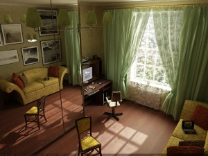 Интерьер малогабаритной квартиры в Севастополе
