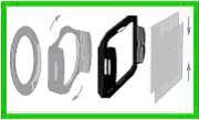 Рис 3. Основные компоненты системы Cokin.