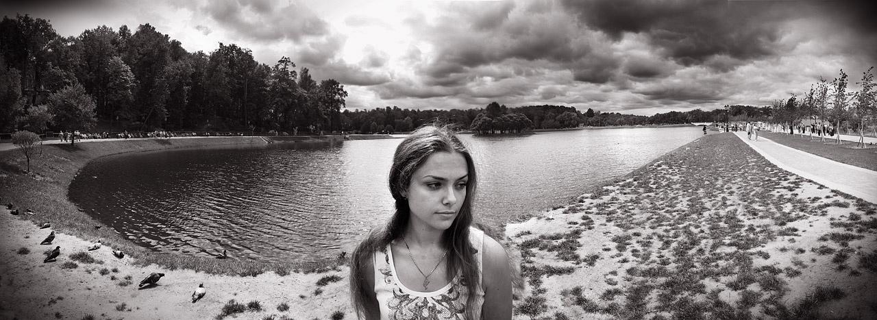 Пример панорамы в портрете