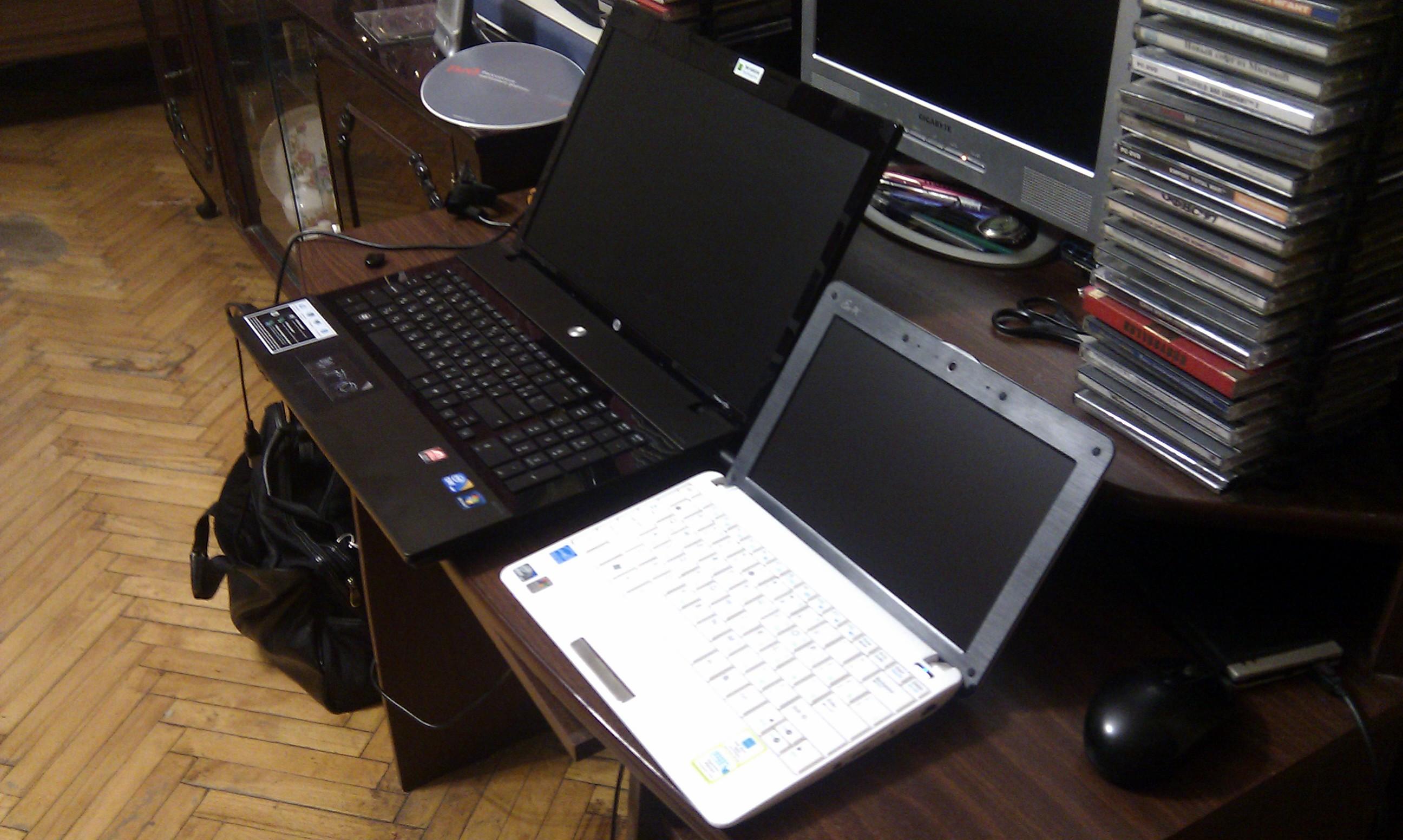 Мои ноутбуки