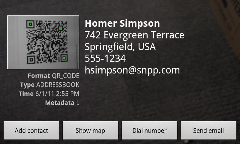 Barcode Scaner для Android