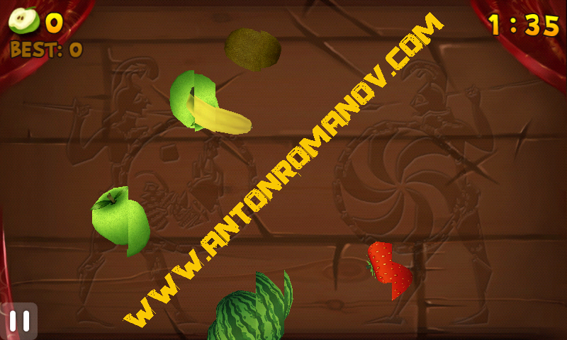 Fruit Slice и Fruit Ninja для Android