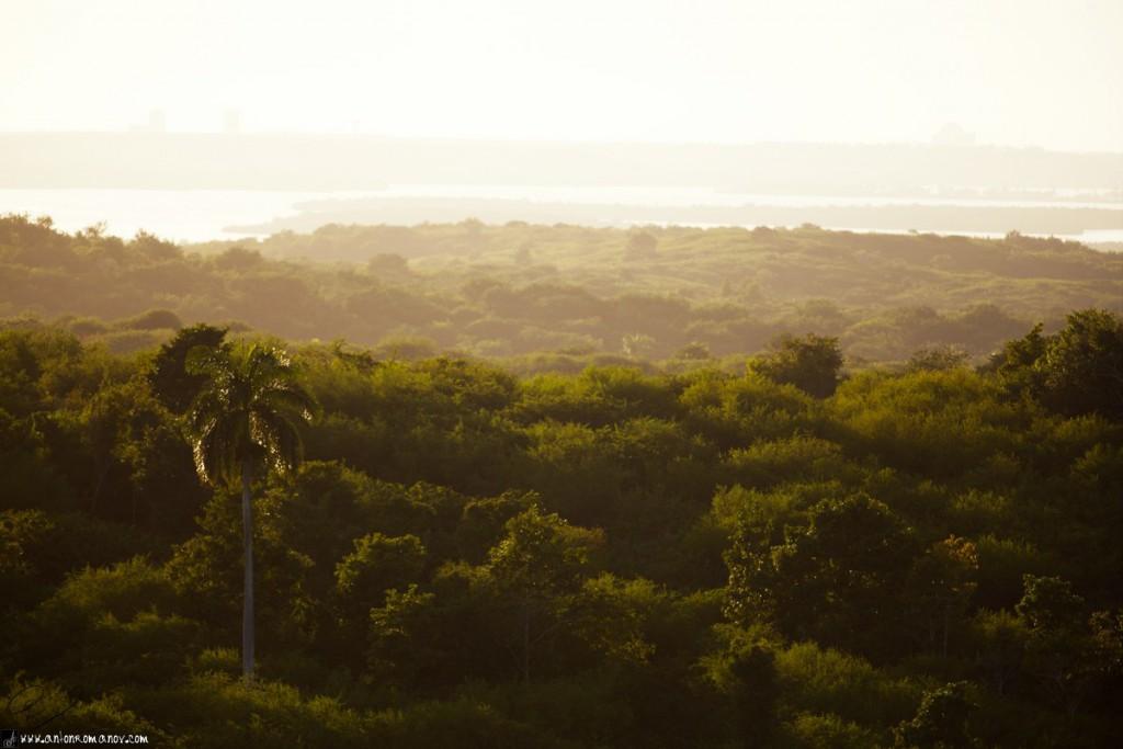 Valle, cerca de la ciudad de Cienfuegos