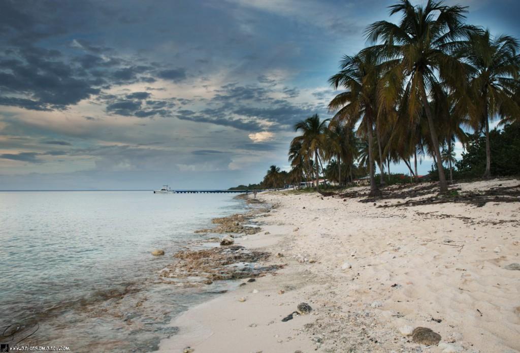 La playa en María La Gorda
