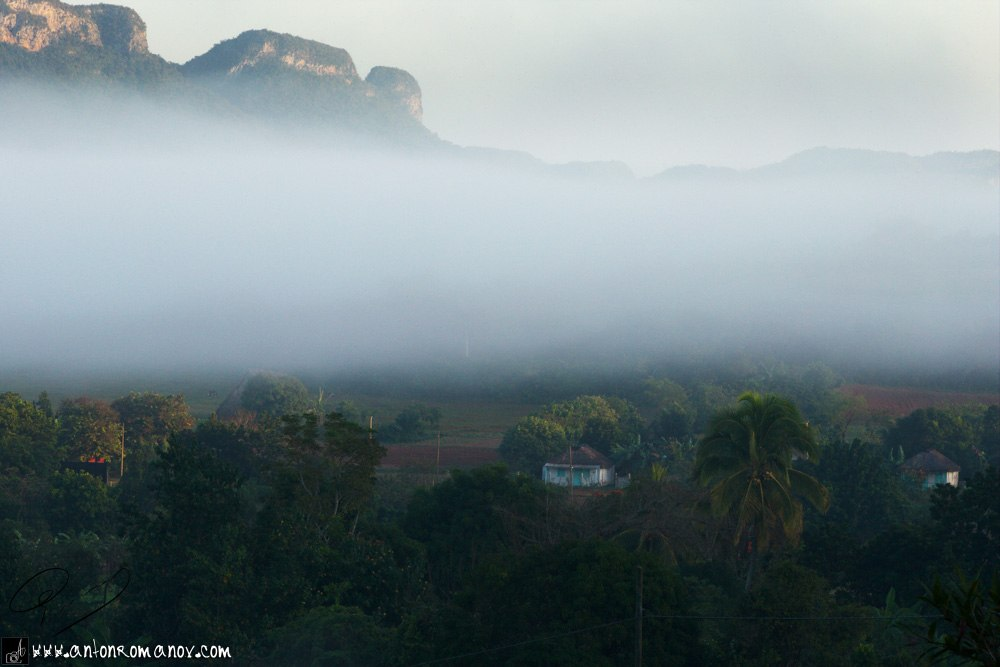 Viñales Valley. Niebla
