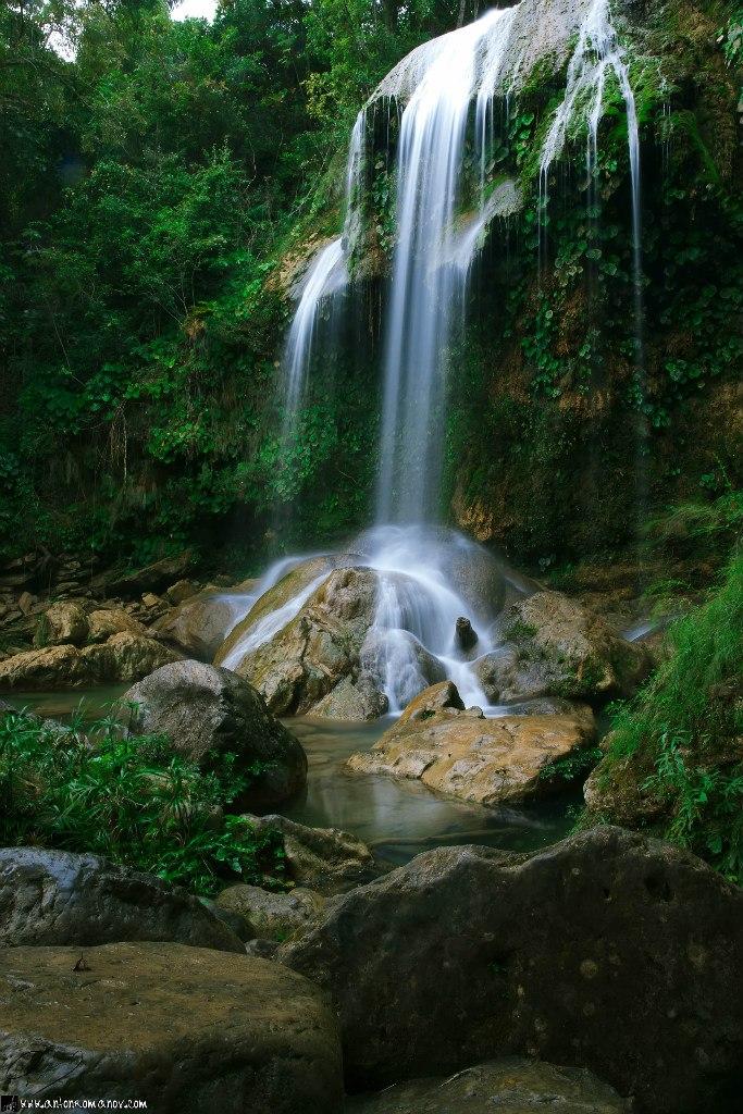 Cascada en Soroa