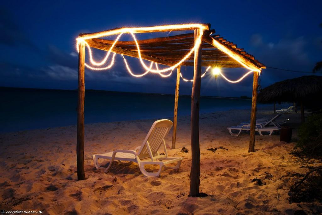 La playa en el Villa Las Brujas hotel