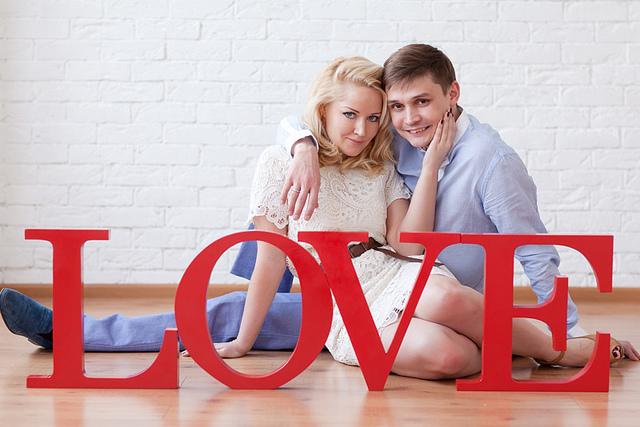 Фотосессия на День Святого Валентина