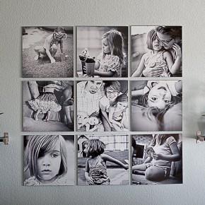 Оформление интерьера фотографиями
