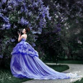 Фотосессия в дизайнерских платьях