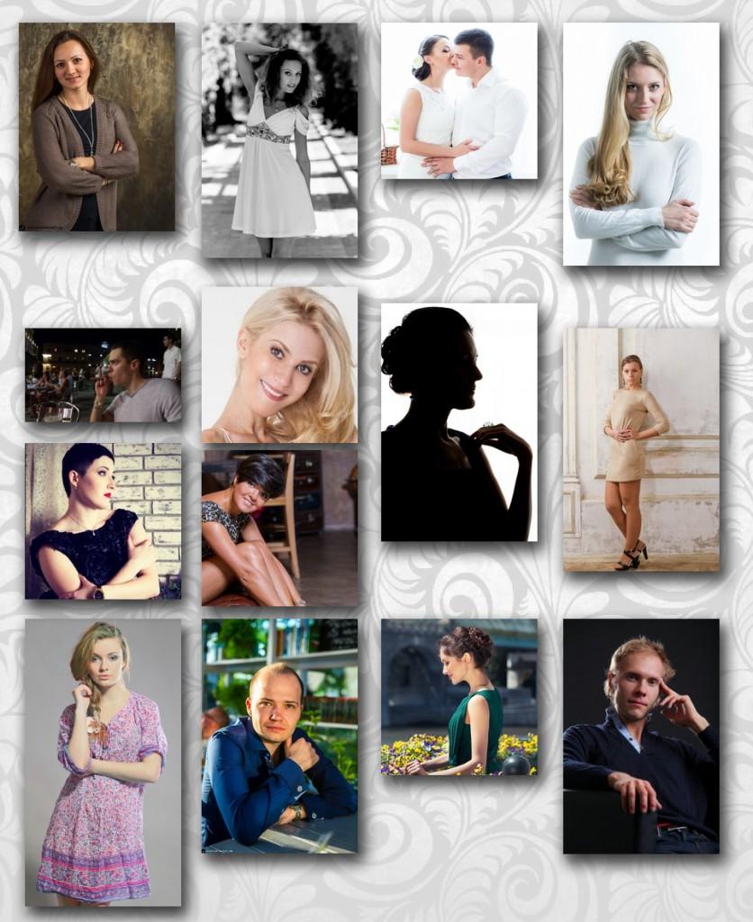Результаты работы. Аватарки в профилях социальных сетей. Фотосессии для социальных сетей