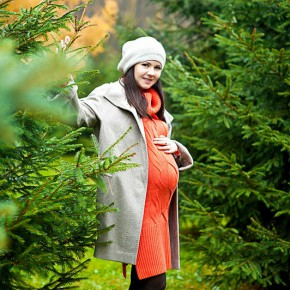 Фотосессия для беременных летом